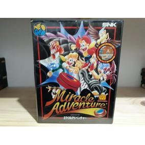 Miracle Adventure Ótimo Estado Neo Geo Aes Confira
