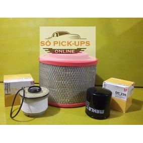 Kit Filtro Diesel/óleo/ar Hilux Pitbull 3.0
