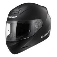 Casco Integral Ls2 352 Rookie Solid Negro Mate Moto Delta