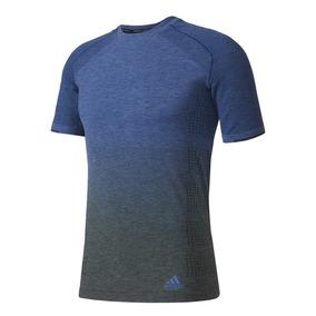 Remera adidas Primeknit Wool Azul Hombre - adidas