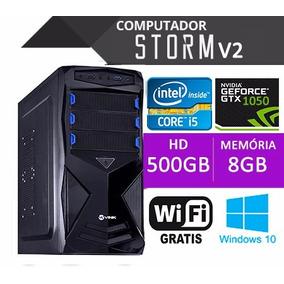 Pc Gamer I5 2400 8gb Hd 1tb Gtx1050 + Monitor 19 + Kit Gamer