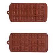 Molde Silicona Para Bombones Jabones Hielos Mini Tableta