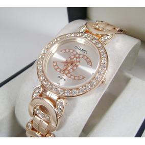 C H A N E L . Reloj Dama Cristales Muy Elegante Nuevo Ddb1