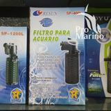 Filtro Interno Para Acuarios Sp-400l Resun 300 Lts/hr