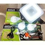 Completissimo Kit Energia Solar 3 Lampadas Luminaria Bateria