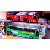 Bus Interprovincial De Metal A Escala (coleccion) Remate