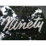 Emblema Vintage Cromado Osmobille Ninety 50 60tas