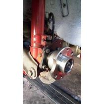Kit Flange Adaptação Pinça De Freio Do Tempra Em Fiat 147
