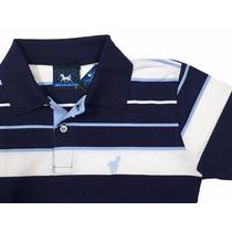 Camisa Camiseta Polo Infantil Juvenil Listrada Teen 106
