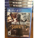 Metal Gear Survive- Ps4- Físico- Nuevo- Sellado- Stock Ya