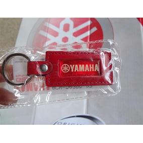 Chaveiro Em Couro Da Linha Team Factory Original Yamaha