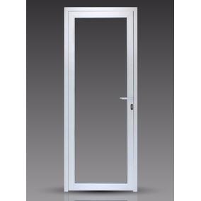 Puerta Módena Dvh Aluminio Blanco 80x200 Doble Vidrio 4-9-4