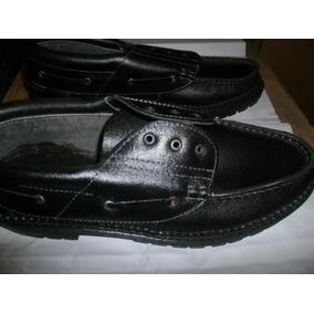 Zapatos Escolares Cuero Ecologico Nauticos Reforzados