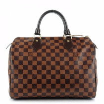 Bolsa Louis Vuitton Speedy 30 Damier Azur Monogram Neverfull