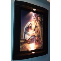 Cuadro De La Sagrada Familia 2 Luces