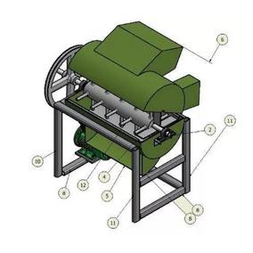 Diseño Fabricar Maquina Desgranadora De Maiz Y Granos P Df