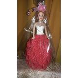 Muñeca Con Vestido Realizado En Goma Eva