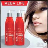 Blindagem E Elixir Capilar Mega Life Wu Cosmeticos Profissio