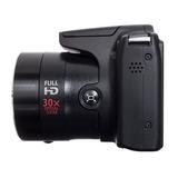 Canon Sx510hs - Zoom Óptico 30x - Lcd 3 Pulg. - 12.1 Mpx