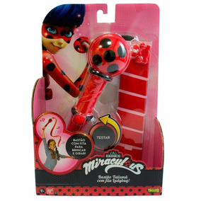 Bastão Talismã Da Ladybug Brinquedo Com Luz Barato Original
