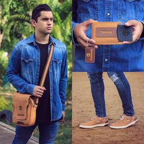 Zapatos Hombre Tinberlad+bolso+billetera Caballero