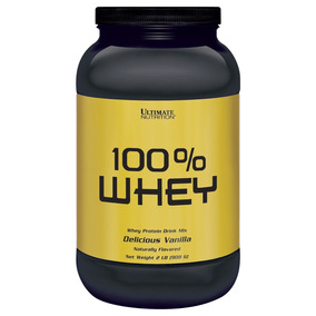 100% Whey 3w Protein Drink Mix 2lb (908g) Ultimate Nutrition