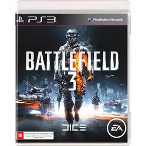 Battlefield 3 Ps3 Jogo Seminovo Original Mídia Física