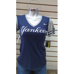 Blusa Nike Dama Yankees New York Chica Cv Original