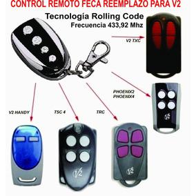 Control Remoto Feca Sustituto Para Control Remoto V2