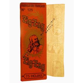 Zig Zag Frances Naranja Papel Arroz Para Liar. No 125.