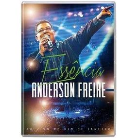Dvd Anderson Freire Essência Ao Vivo Original 02 Peças