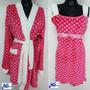 Pijama Mujer Bata + Levantadora ( Hstyle )