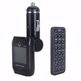 Transmissor Fm Veicular Carro Mp3 Player Pen Drive Cartão Sd