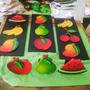 Cuadros Pintura Sobre Madera Frutas Cocina Arte Country