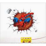 Adesivo 3d Do Homem Aranha - Tam 45 X 50 Centimetros