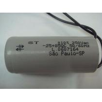 Capacitor 35uf/250v Para Motor De Portão Automático