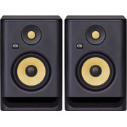 Monitores De Estudio Krk Rp5 G4 5'' Activos 55 Watts El Par