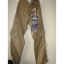 Pantalon Nuevo Y Original Bershka Caqui Talla 30