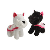 Scotty Scottish Terrier Cachorro De Perro Blanco Y Negro Con
