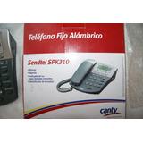 Telefono Alambrico Sendtel Spk-310 Nuevo