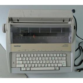 Máquina Escrever Elétrica Brother Sem Garantia Funcionamento