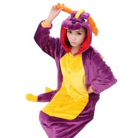 Pijama Mameluco Kigurumi Onesi Cosplay Dragón Adulto-envio