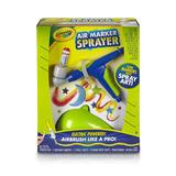 Crayola Air Marker Sprayer Set, Aerógrafo, Regalo, Edades