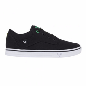 Tenis Vibe Vs63a Roots World Black Brazil