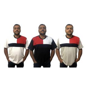 Camiseta Plus Size Masculina G1 G2 G3 G4 Extra Grande Blusa