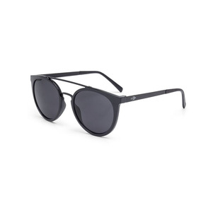 Óculos De Sol Mormaii Los Angeles Preto Brilho Lente Cinza 91db636cd6