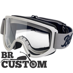 Óculos Biltwell Moto Goggle 2.0 Titanium Moto Custom Old