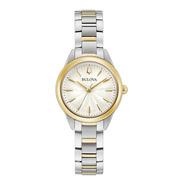 98l277 Reloj Bulova Sutton Cuarzo Plateado/dorado