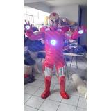 Fantasia Homem De Ferro 3 Luzes (peito, Olhos E Mãos (novo)
