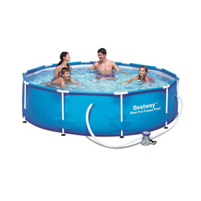 Alberca Bestway 56058us-14 Steel Pro Frame Pool Set, 10-f